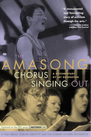 cover of The Amasong Chorus: Singing Out