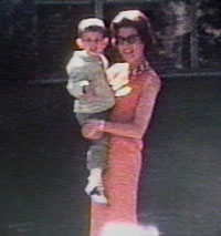 photo of Jay Rosenstein as a boy and his mother
