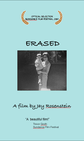 cover of Erased documentary